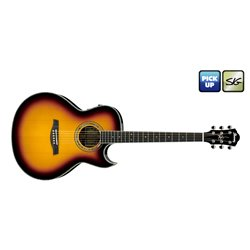Westerngitarre Ibanez E/A-GITARRE JSA20-VB Signature Joe Satriani  Westerngitarre