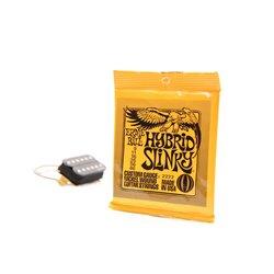 E-Gitarren Saiten 009-046 Ernie Ball - Hybrid Slinky