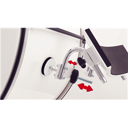 Tragevorrichtungen - Plug & Play-Adapter für 7700, Bass Drums, schwarz