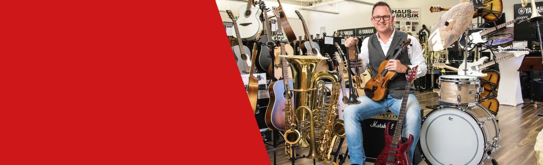 Haus der Musik - Der Onlineshop wenn es um Musik geht! y